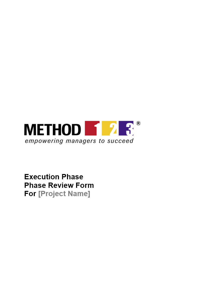 Phase Review Project Management Review