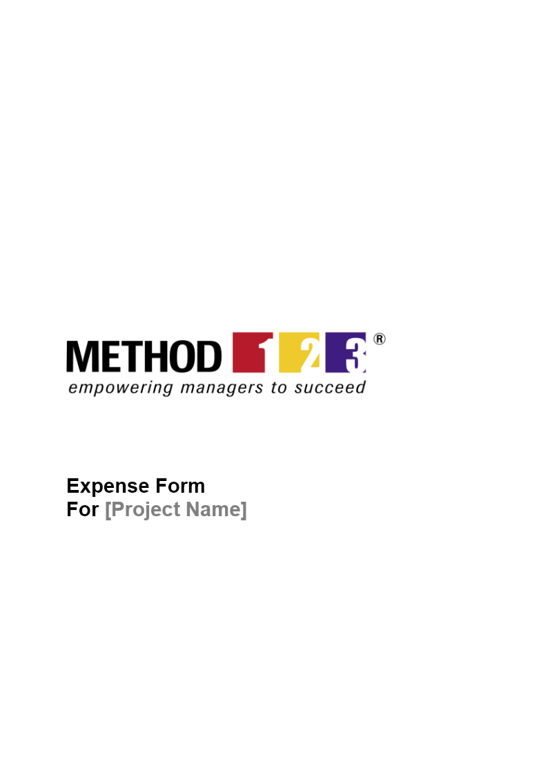Expense Form Expense Report Form – Expense Form