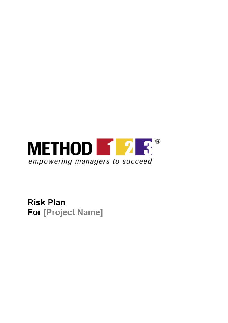 Risk Management Plan - Risk Plan